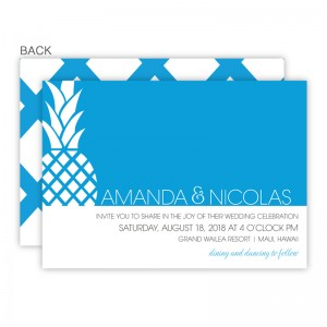 April Wedding Invitations