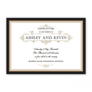 Sterling Wedding Invitatioons SAMPLE