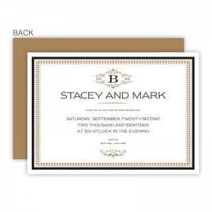 Rory Wedding Invitations