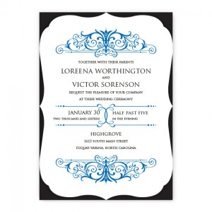 Felicia Wedding Invitations SAMPLE
