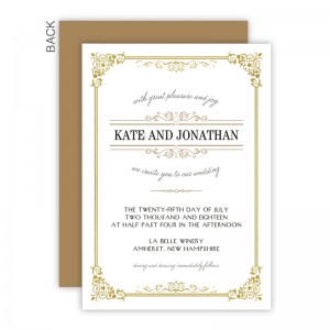 Skyla Wedding Invitations - Real Foil Invitation!