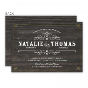 Helena Wedding Invitations SAMPLE