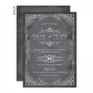 Maggie Wedding Invitations - Real Foil Invitation!