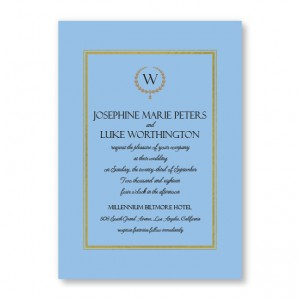 Elise Wedding Invitations - Real Foil Invitation!