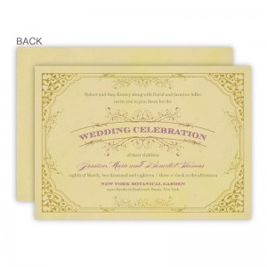 Melanie Wedding Invitations - Real Foil Invitation!