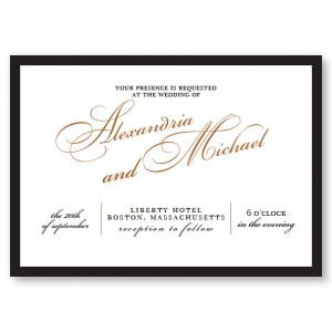 London Wedding Invitations