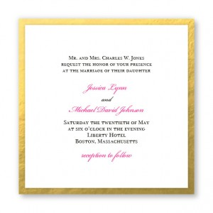 Vivaldi Wedding Invitations