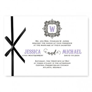 Maribelle 2 Wedding Invitations