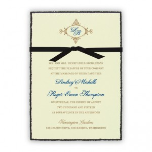 Willow Wedding Invitations SAMPLE