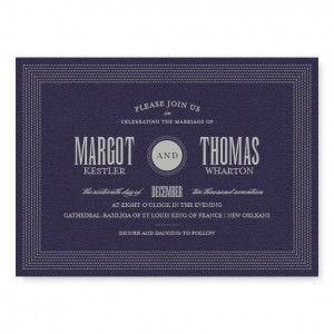 Broadway Marquee Wedding Invitations