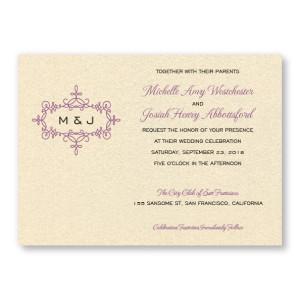 Rosie Wedding Ivitations
