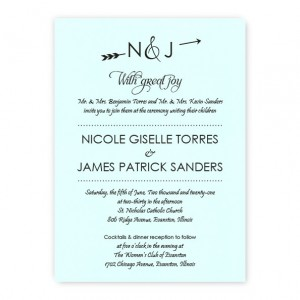 Layla Thermography Wedding Invitations