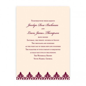 Kendall Wedding Invitations
