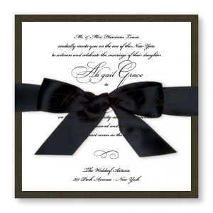 Grace Wedding Invitations SAMPLE