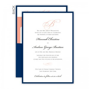 Classic Clutch Pocket Wedding Invitations