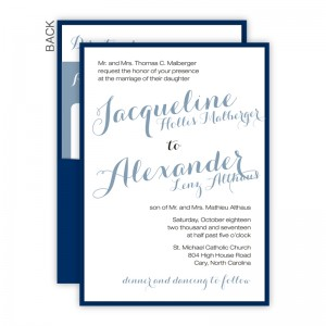 Darling Clutch Wedding Invitations