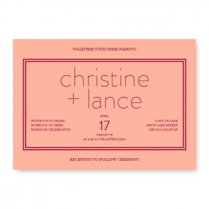 Kindred Wedding Invitations