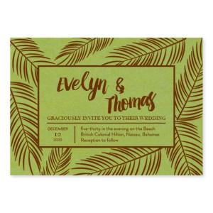 Coveted Pine Wedding Invitations