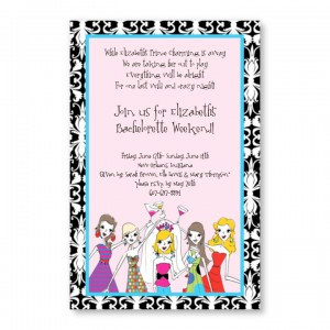 Bachelorettes Invitations