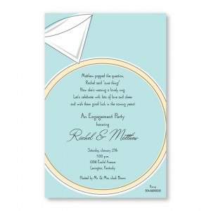 Big Ring Invitations