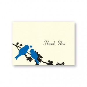 Wings of Love Thank You Cards