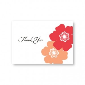 Matchless Beauty Thank You Cards