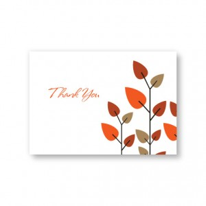 Leaves of Love Thank You Cards