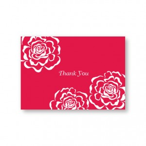 Bella Rose Thank You Cards