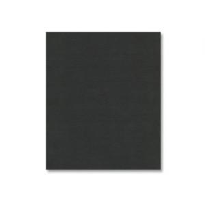 Black Linen  Cardstock - Various Sizes