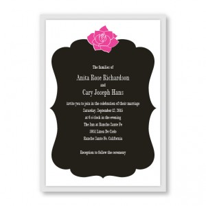 Blooming Inspiration Wedding Invitations
