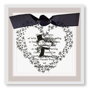 Children of the Inner Light - Hugging Wedding Wedding Invitations