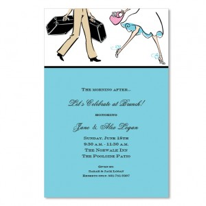 Couple Brunch Invitations