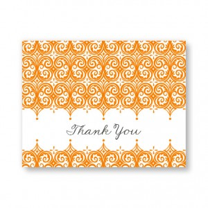 Elite Letterpress Thank You Cards