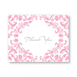 Inspiration Letterpress Thank You Cards