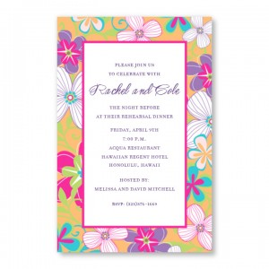 Crazy Floral Invitations