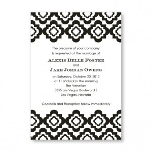Creative Edges Wedding Invitations
