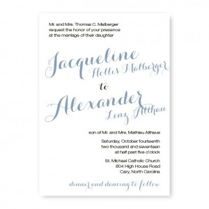 Darling Classic Wedding Invitations