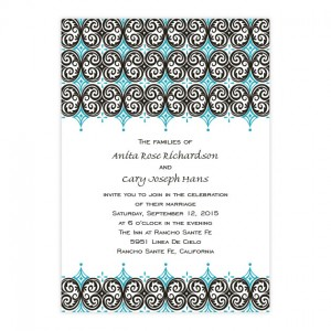 Distinctive Design Wedding Invitations