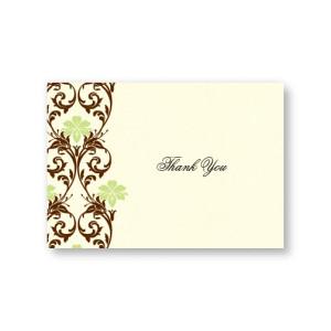 Lavish Border Thank You Cards