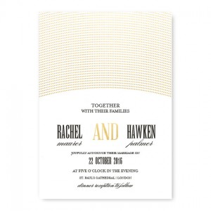 Ellington Wedding Invitations - Real Foil Invitation!