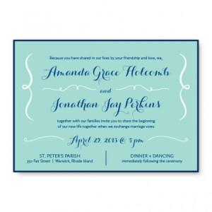 Embrace 2-Layer Wedding Invitations