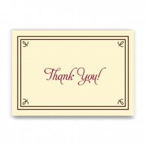 Gretchen Thank You Cards
