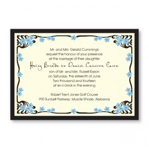 Framed in Love Wedding Invitations
