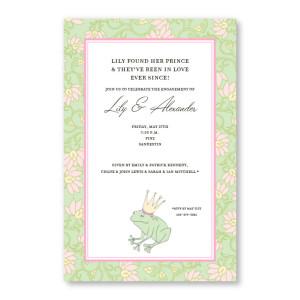 Frog Prince Invitations