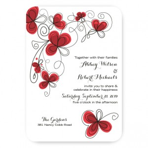 Garden Enchantment Wedding Invitations