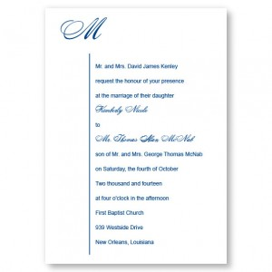 Graceful Style Wedding Invitations