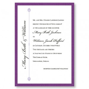 Harmony II Classic Wedding Invitations