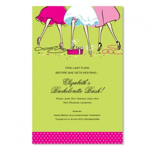 Haute Girls Invitations