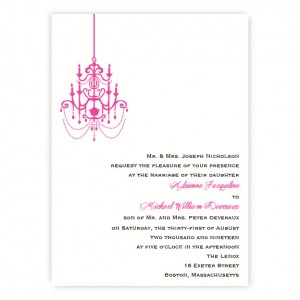 Janelle Modern Wedding Invitations