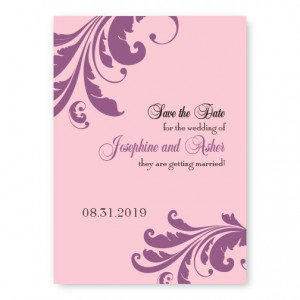 Lavish Affair Save The Date Cards